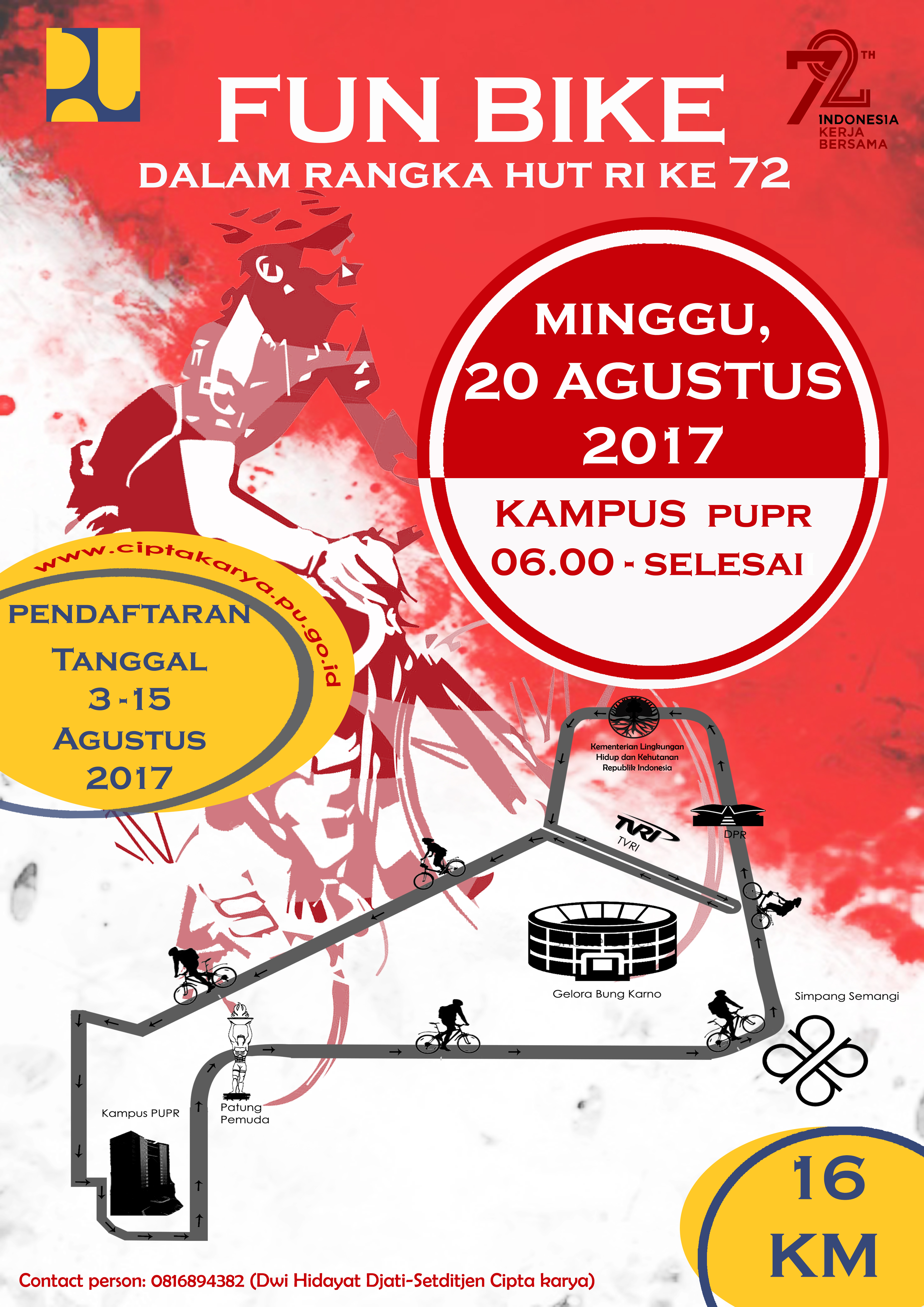 FUN BIKE HUT RI 72