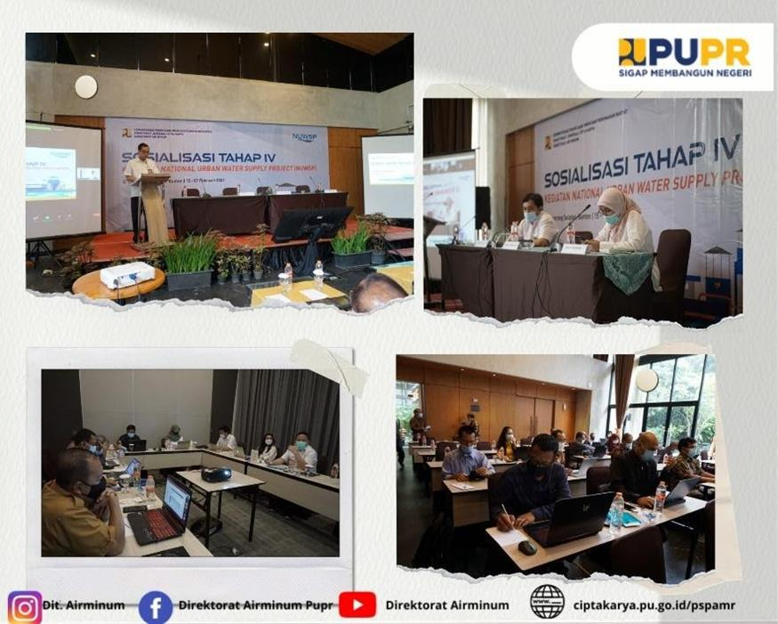 Program Kegiatan Pra-Sosialisasi Tahap IV National Urban Water Supply Project (NUWSP) tanggal 27-29 Januari 2021